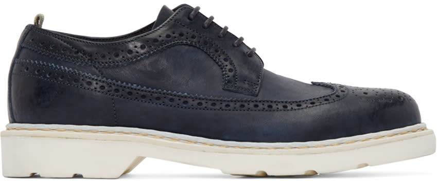 Officine Creative Navy Pigalle Brogues