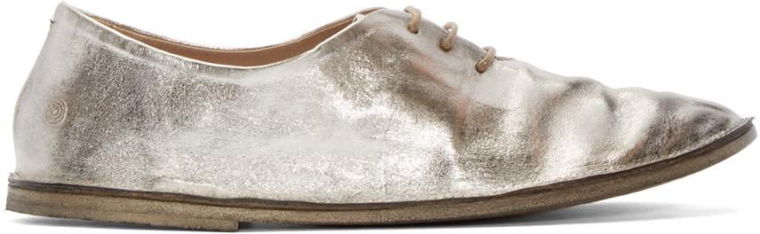 Marsèll Silver Leather Strasacco Oxfords