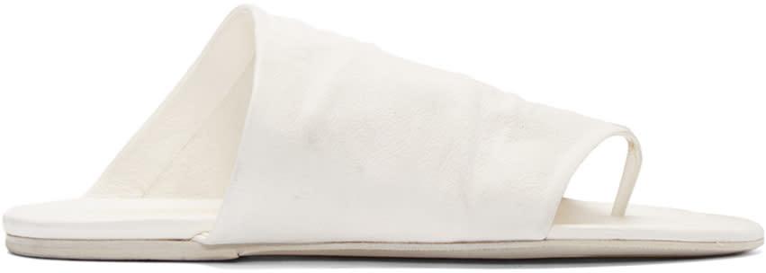 Marsell White Arsella Sandals