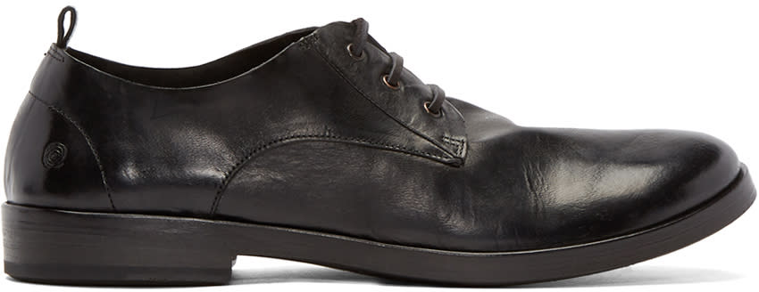 Marsèll Black Leather Lista Derbys