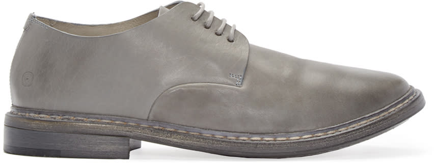 Marsèll Grey Leather Calce Derbys