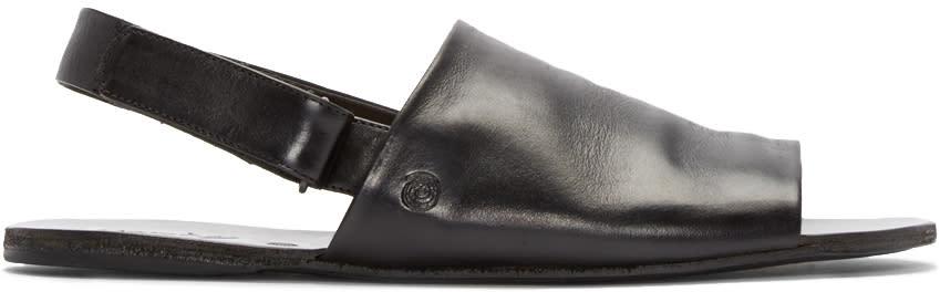 Marsèll Black Slingback Sandals