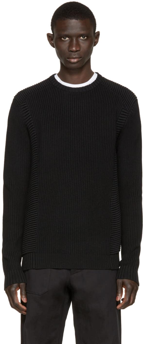 Image of Pierre Balmain Black Knit Sweater