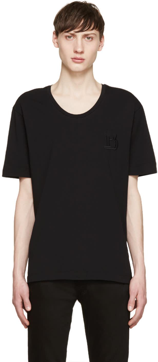 Pierre Balmain Black Logo T-shirt