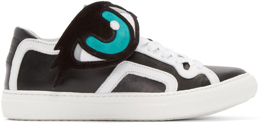 Pierre Hardy Black Oh Roy Sneakers