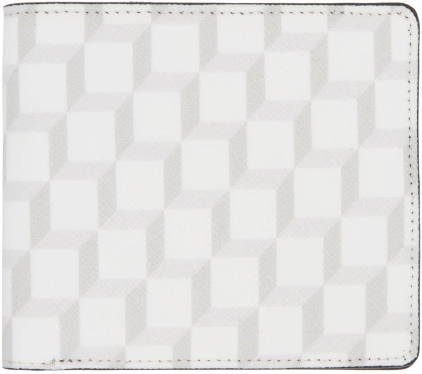 Pierre Hardy White Cube Wallet