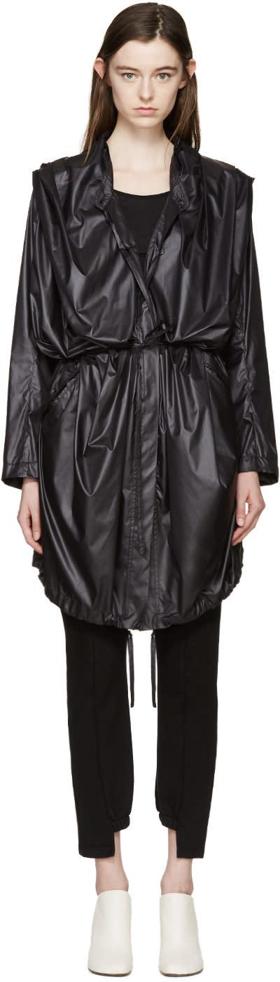Ann Demeulemeester Black Astrid Coat