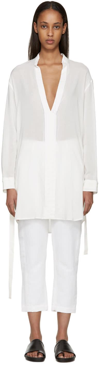 Ann Demeulemeester White Victoria Shirt