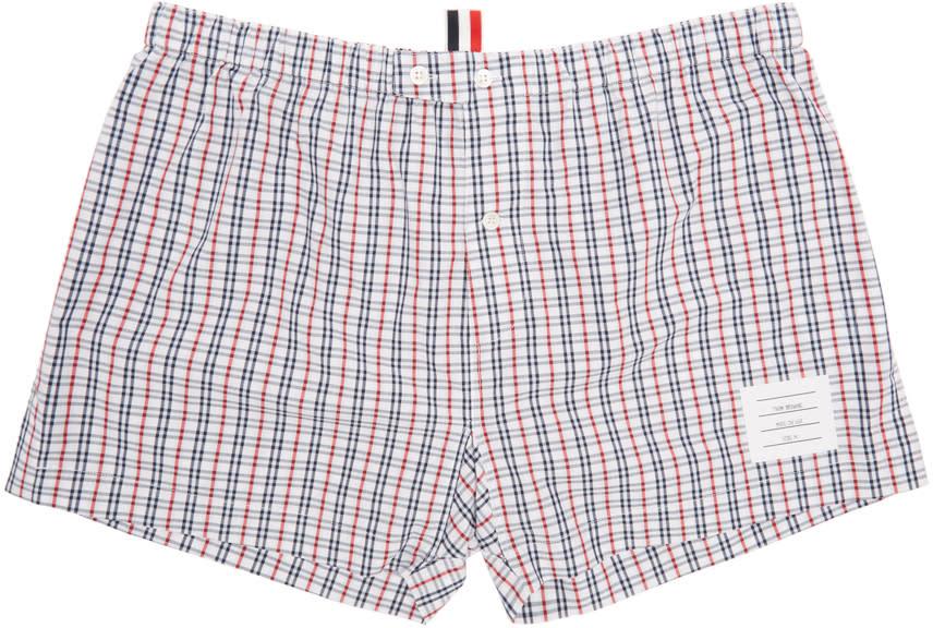 Thom Browne Tricolor Check Boxers