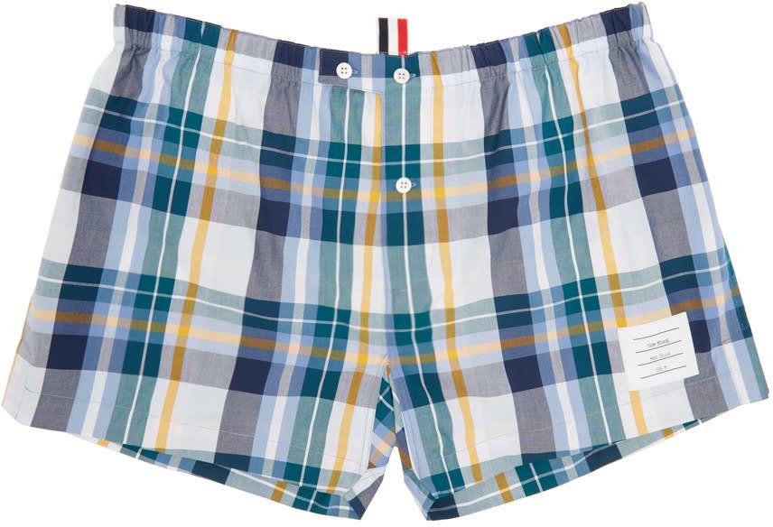 Thom Browne Multicolor Check Boxers