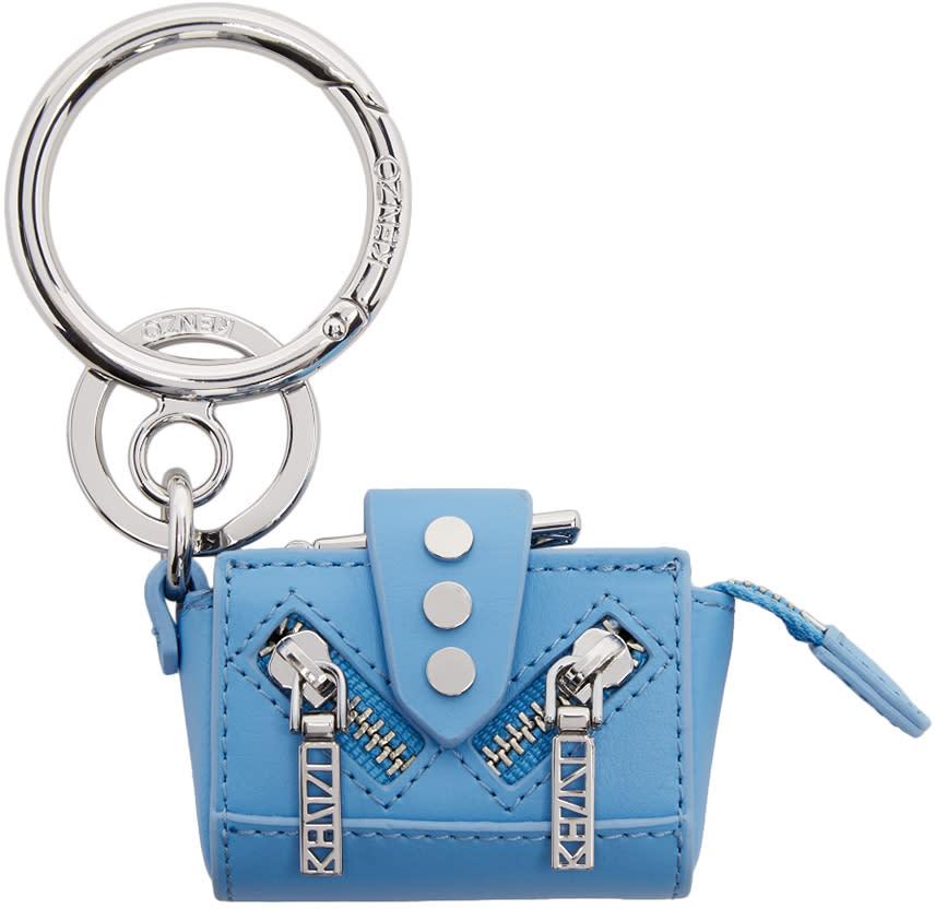 Kenzo Blue and Silver Kalifornia Keychain