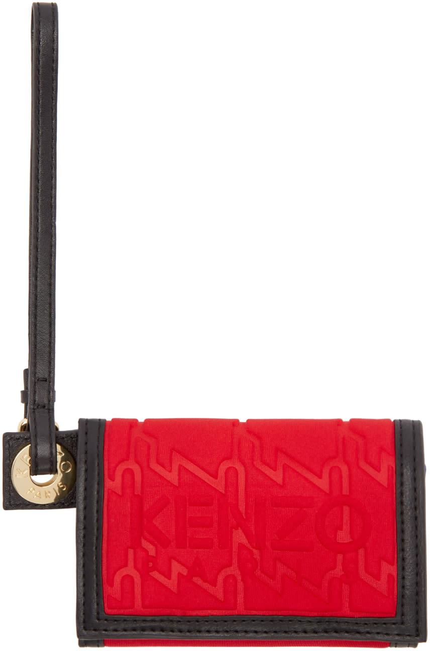 Kenzo Red Small Kombo Wallet