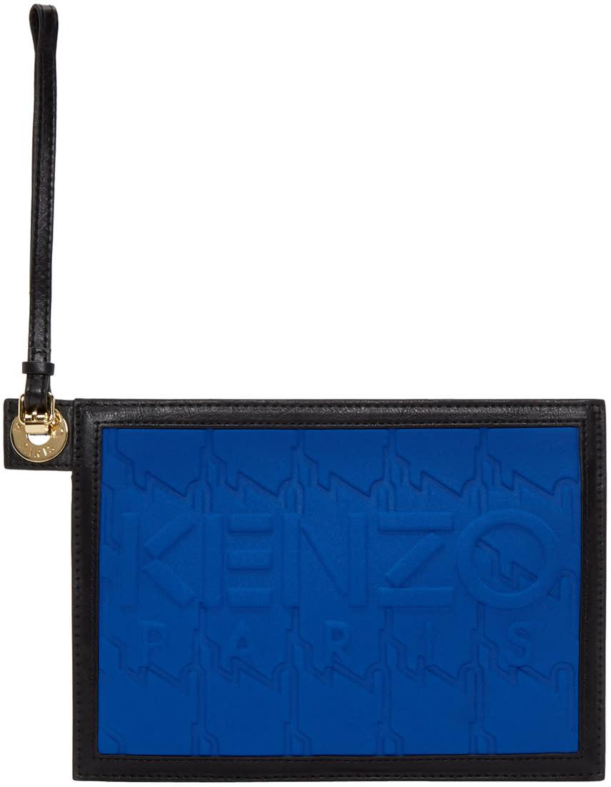 Kenzo Blue Kombo Zip Pouch