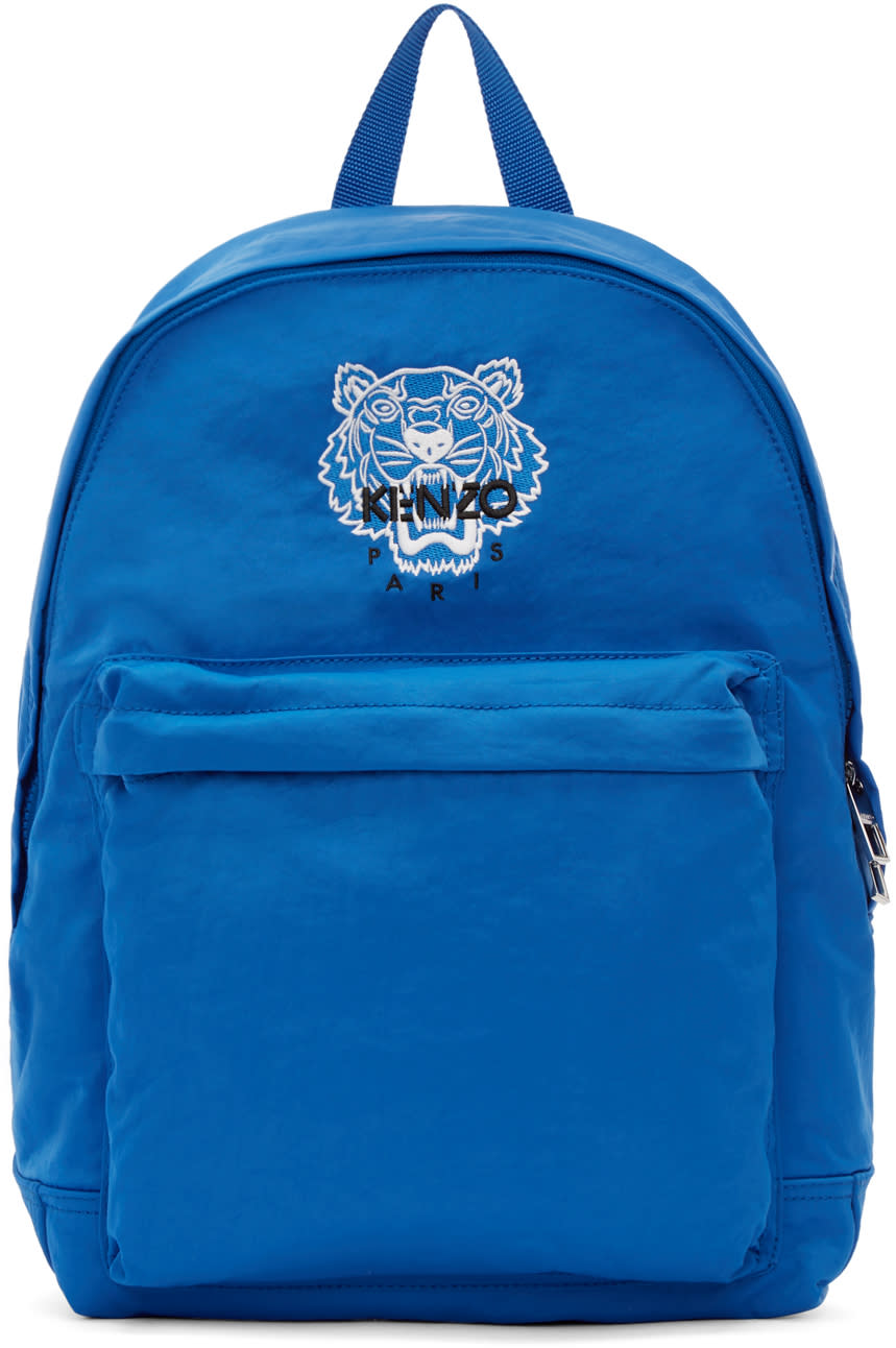 Kenzo Blue Tiger Backpack