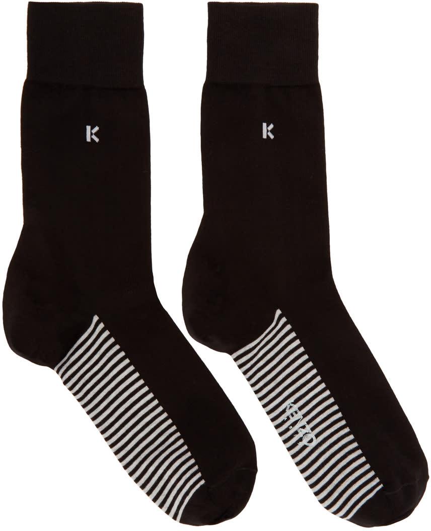 Kenzo Black k Socks