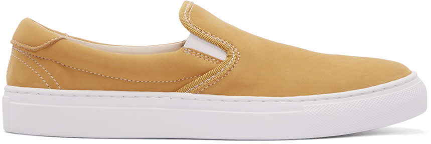 Diemme Yellow Garda Clip Coast Slip-on Sneakers