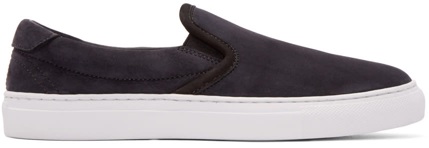 Diemme Ssense Exclusive Black Garda Slip-on Sneakers