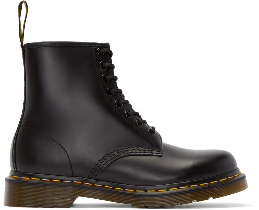 Dr. Martens Black Eight-eye 1460 Boots