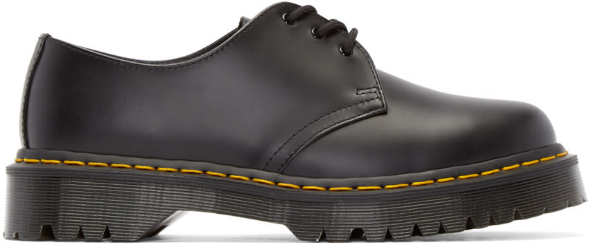 Dr. Martens Black Leather 1461 Derbys