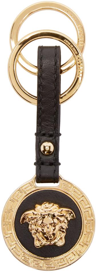 Versace Gold Medusa Keychain