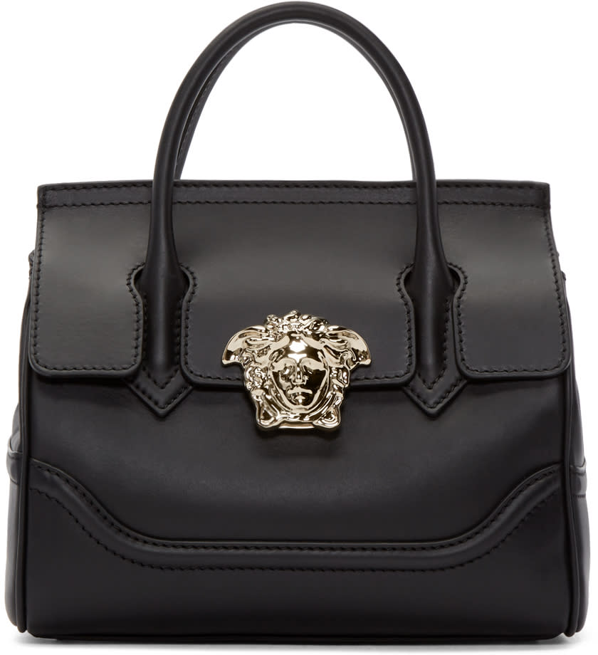 Versace Black Medium Palazzo Bag
