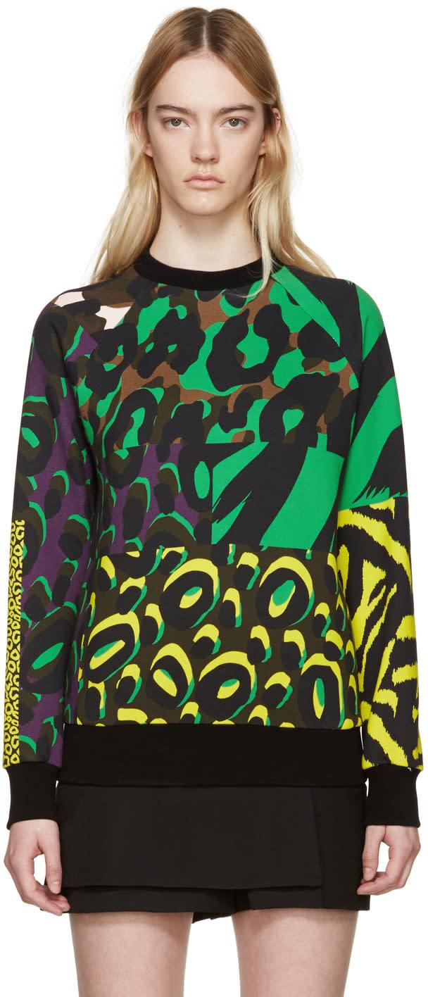 Versace Multicolor Wild Pullover