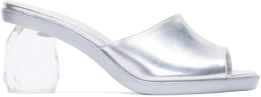 Simone Rocha Silver Chandelier Heels