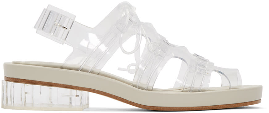 Simone Rocha Clear Jelly Sandals