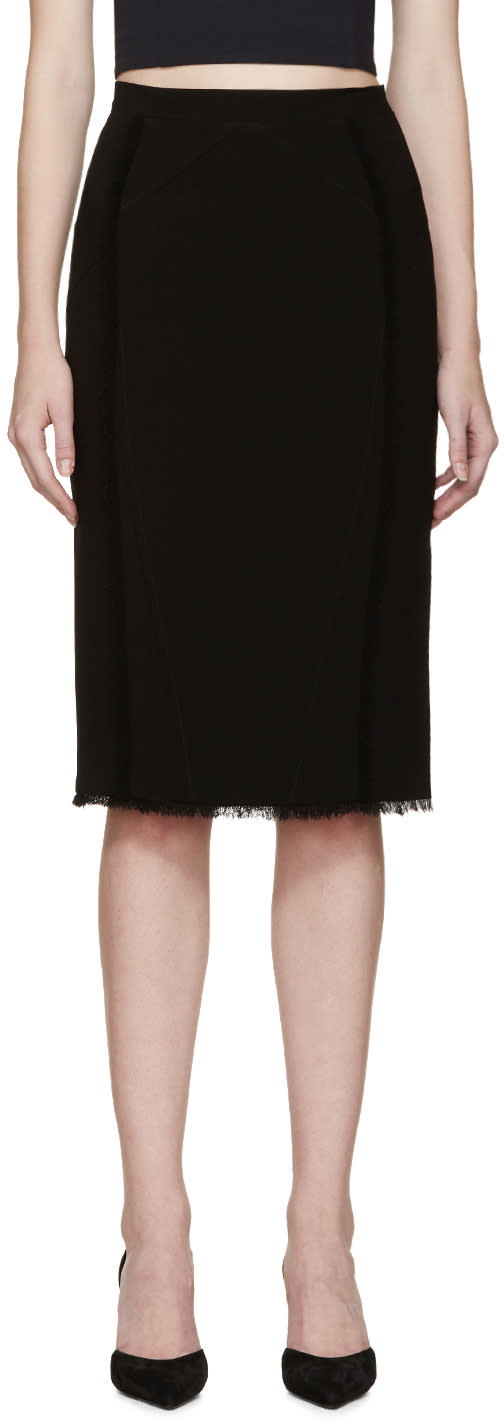 Altuzarra Black Pencil Miro Skirt
