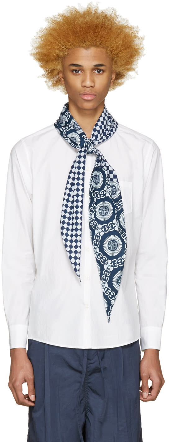 Sasquatchfabrix White Scarf Shirt
