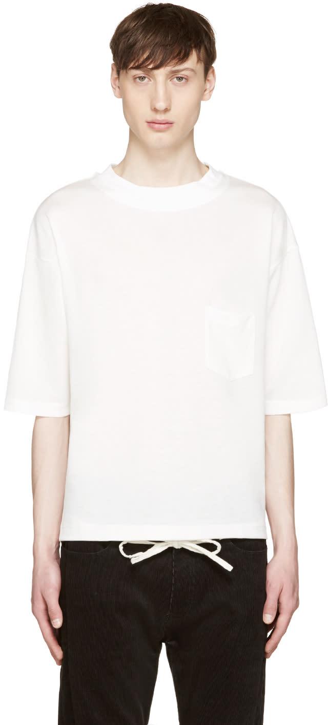 Sasquatchfabrix White Knit T-shirt