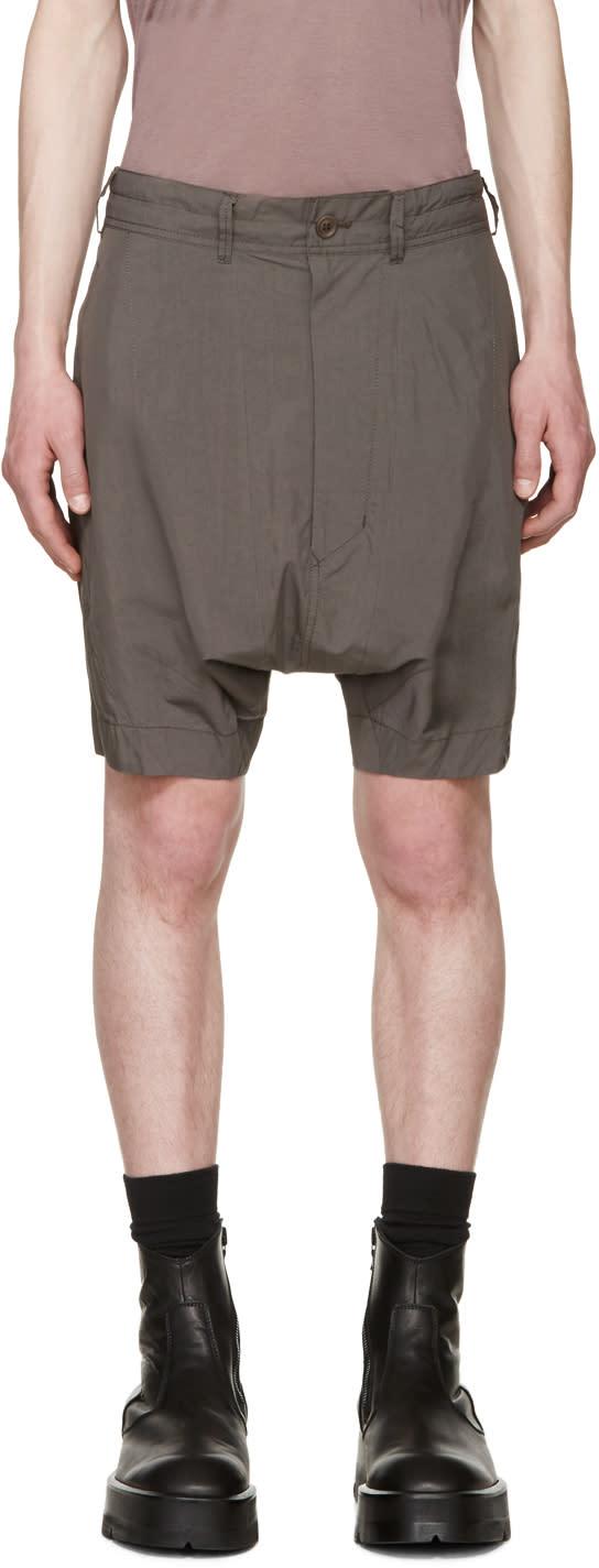Julius Grey Poplin Shorts