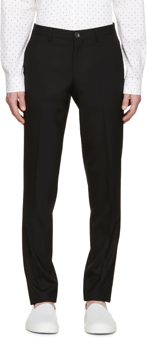 Ps By Paul Smith Black Gents Trouser