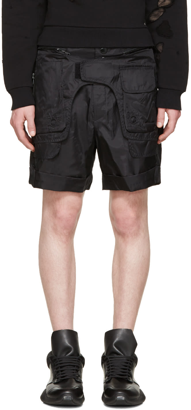 Ktz Black Body Bag Shorts