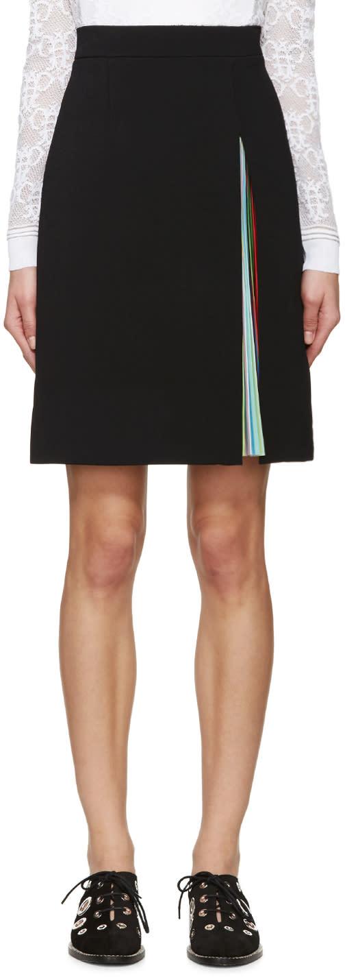 Mary Katrantzou Black Nema Skirt