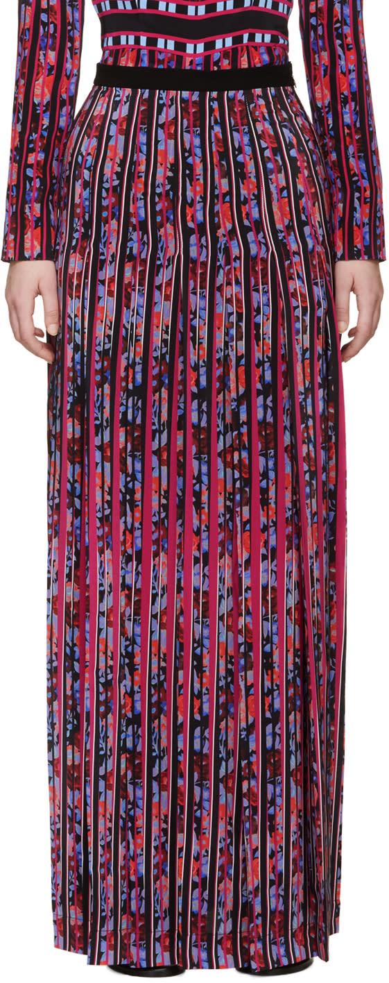 Mary Katrantzou Multicolor Gardenia Acti Skirt