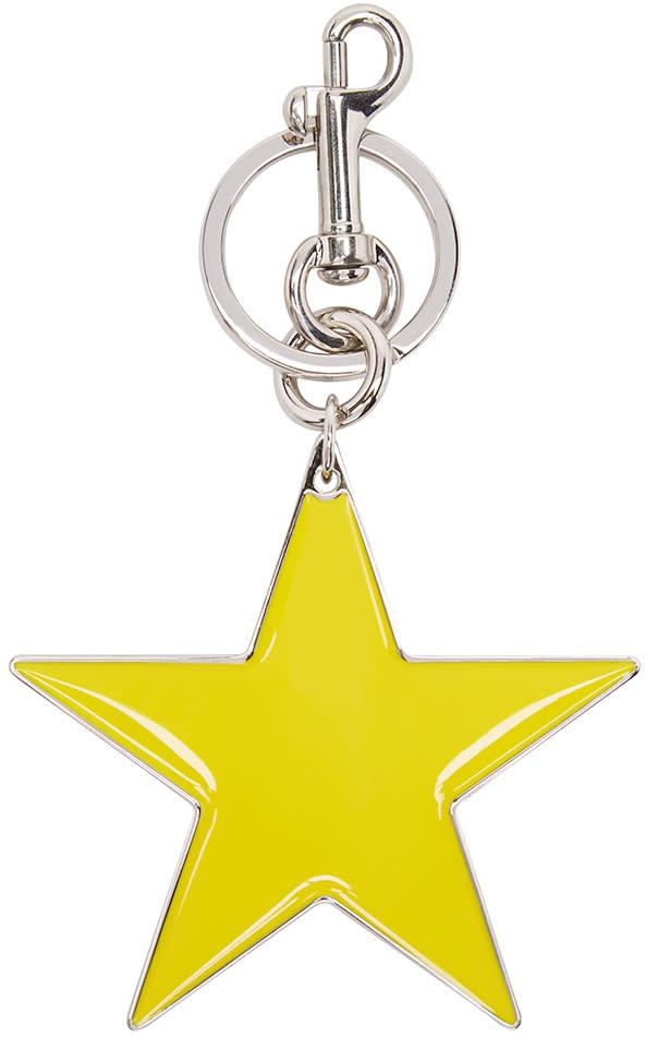 Stella Mccartney Yellow Star Keychain