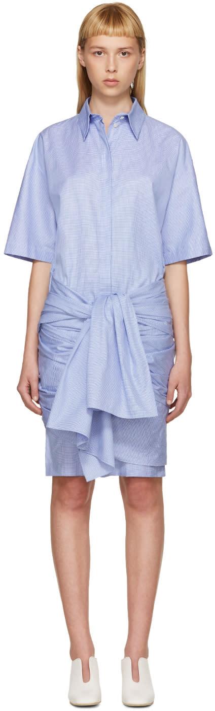 Stella Mccartney Blue and White Martine Dress
