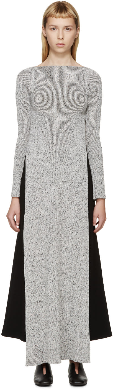 Stella Mccartney Grey Long Side Slit Sweater