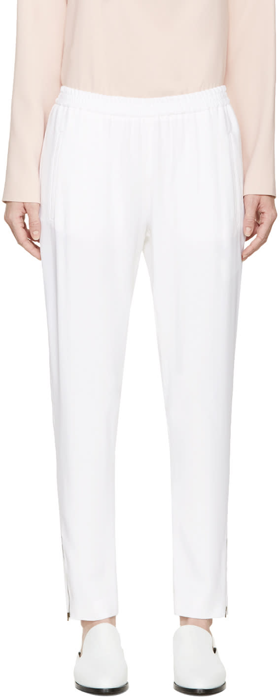 Stella Mccartney White Tamara Trousers