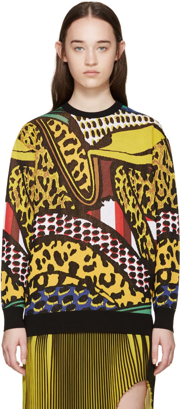 Stella Mccartney Multicolor Brush Stroke Sweater