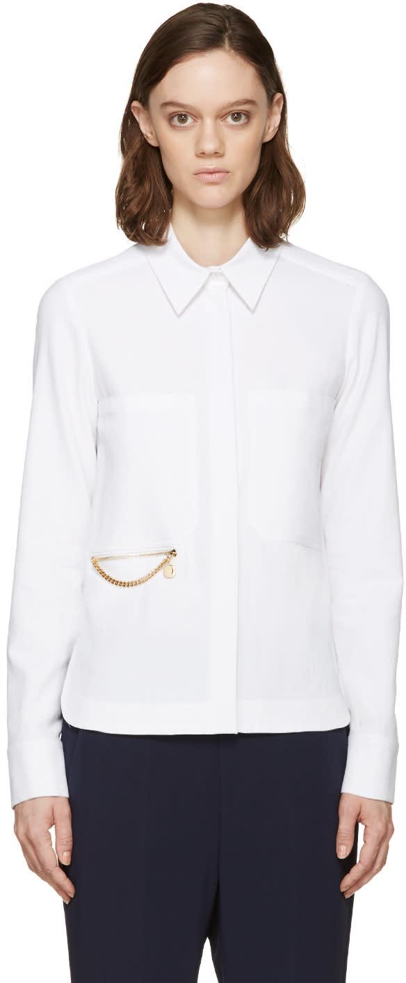 Stella Mccartney White Falabella Faith Shirt