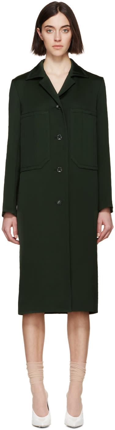 Nina Ricci Green Twill Jacket
