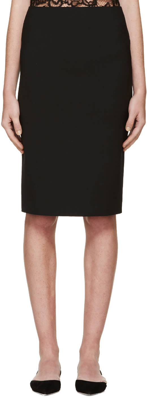 Nina Ricci Black Milano Skirt