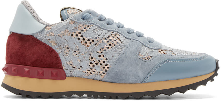 Valentino Multicolor Lace Low-top Sneakers