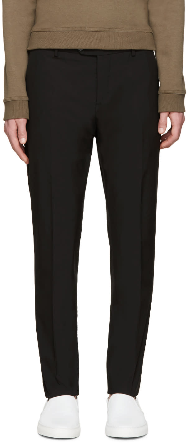 Valentino Black Skinny Trousers