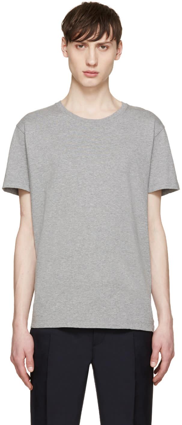 Valentino Grey Single Stud T-shirt
