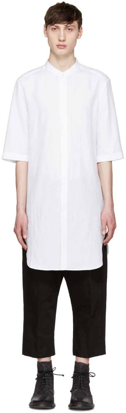 Thamanyah White Long Shirt