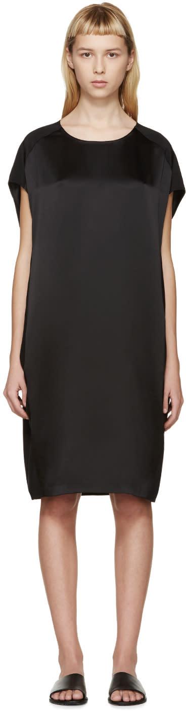 Calvin Klein Collection Black Silk Fia Dress