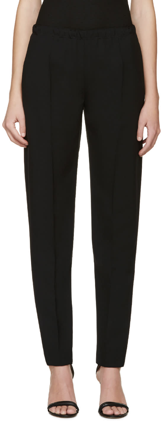 Calvin Klein Collection Black Francklyn Trousers